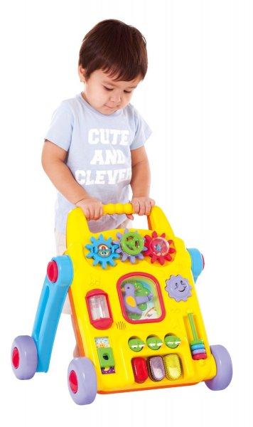 [Amazon.de-Prime]  Baby's 2 in 1 Laufhilfe mit Aktivitäten, Batteriebetrieben