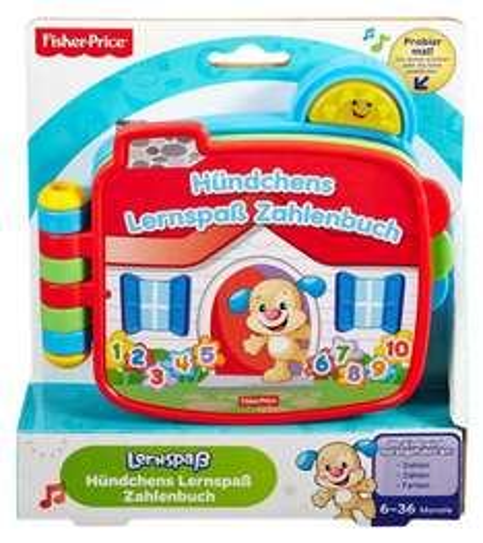 [Amazon.de-Prime] Mattel Fisher-Price CDK26 - Lernspaß Hündchens Zahlenbuch