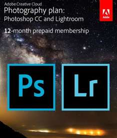 1 Jahreslizenz Photoshop CC + Lightroom Bundle