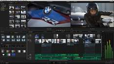 Profi Videoschnittsoftware von Blackmagic Resolve 12/Fusion 8