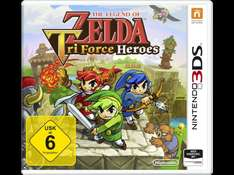 Zelda Tri Force Heroes 3DS