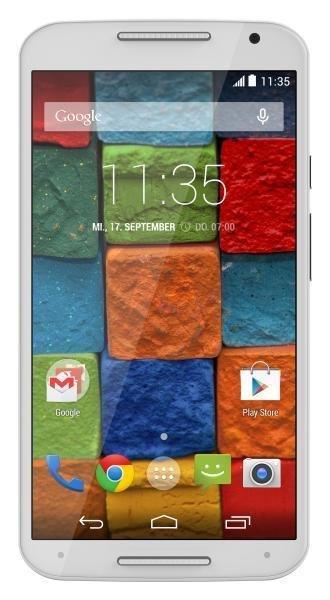 """Motorola Moto X™ (2. Generation) schwarz/weiß 16GB für 229€ - 5,2"""" Smartphone @ebay"""