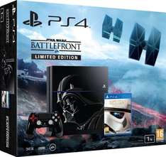 [Amazon.fr] PlayStation 4 - 1TB - Star Wars Battlefront Limited Edition [CUH-1216B] für 402,16 statt 499,00 PVG - 20% Ersparnis