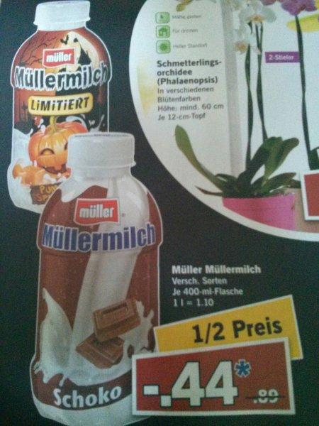 Müller Milch bei lidl aber nur am 31.10 für 44cent