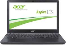 Acer Aspire E5-571G-507L 39,6 cm (15,6 Zoll HD Matt) Notebook (Intel Core i5-5200U, 2,7GHz, 8GB RAM, 500GB HDD, Nvidia GeForce 840M, DVD, Win 8.1) schwarz