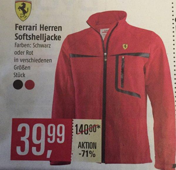 Ferrari Herren Softshelljacke