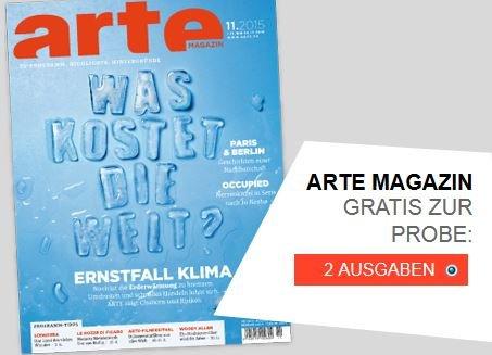 2 Ausgaben ARTE Magazin