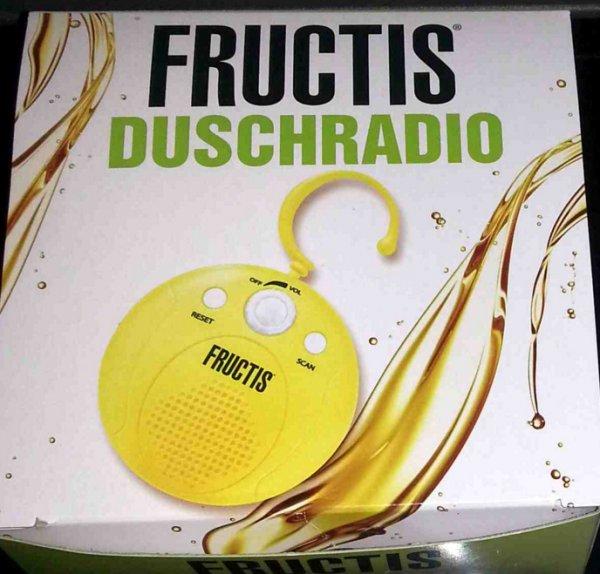 [BRÜHL] REAL: Garnier Fructis Duschradio für 0,50€