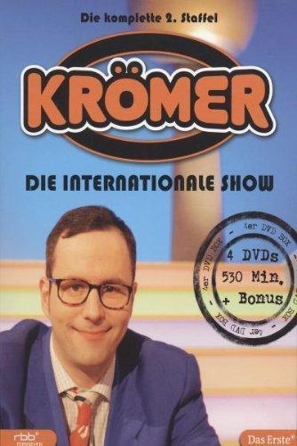63600 Sek. Unterhaltung mit Kurt Krömer - Die internationale Show - Staffel 2 + Staffel 3 gebraucht (8 DVDs) € mediamops