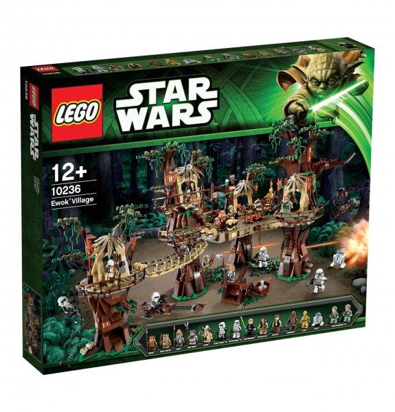 [Galeria Kaufhof] Lego Star Wars reduziert: Ewok Village 10236 für 203€, X-Wing Starfighter 10240 für 162€, MTT 75058 für 81€