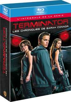[Amazon.fr] Terminator - The Sarah Connor Chronicles Staffel 1+2 Blu-Ray inkl. dt. Tonspur