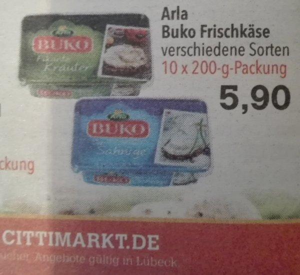 Arla Buko im 10er Pack offline bei Citti Lübeck nur 5,90 €