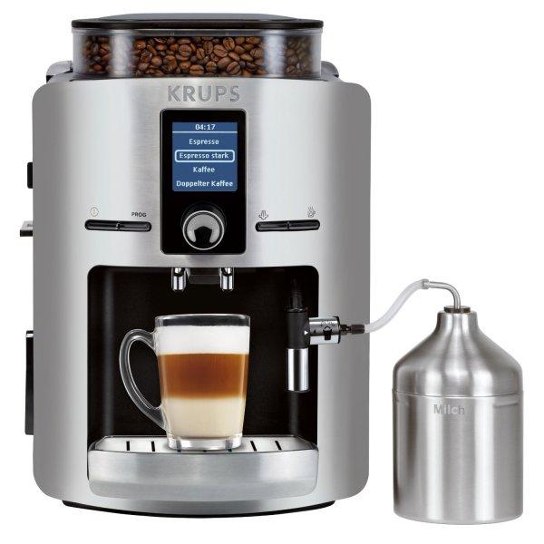 [Lokal Aachen] Kaffeevollautomat Krups EA 826 E für 299€ im Saturn Aquis Plaza ab Mittwoch