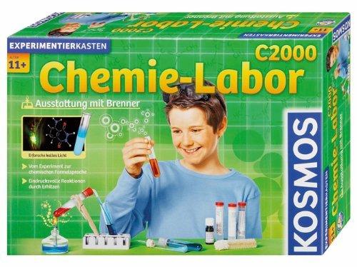 Kosmos Experimentierkasten - Chemielabor C 2000 @ Amazon (sobald verfügbar)