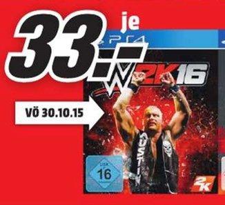 [Lokal Mediamärkte .Linker Niederrhein] WWE2K16 (PS4) für 33,-€ zb...Aachen, Mönchengladbach...etc
