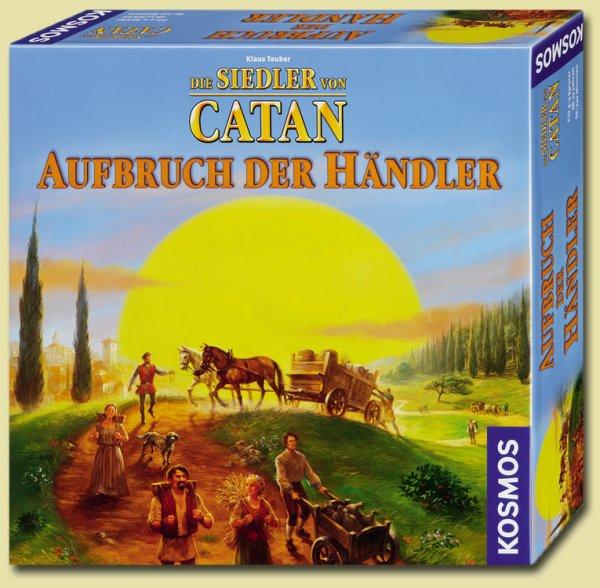 """[ Weltbild.de ] """"Die Siedler von Catan - Aufbruch der Händler"""" (KOSMOS Brettspiel) für 14,99€ + 5% Qipu, GÜNSTIGSTES Angebot !"""