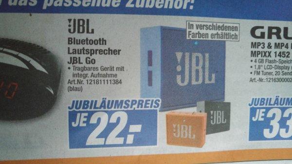 JBL Go für 22 € (Lokal Marburg/Korbach)