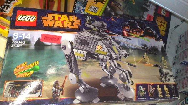(Lokal Bruchsal) Lego Star Wars AT-AP für 34,99€ im EDEKA