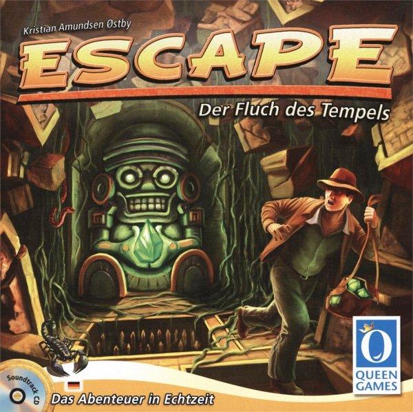 "[Queen Games] Offizieller Soundtrack zum Spiel ""Escape - Der Fluch des Tempels"" gratis als Download"