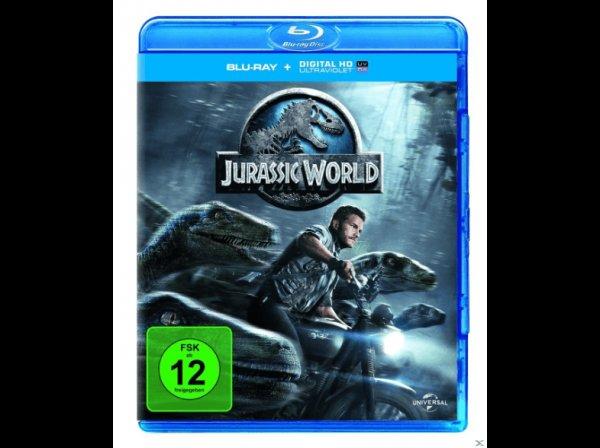 [Lokal Raum Aachen] Jurassic World BluRay +UV Copy für 9,90€ @ Media Markt Herzogenrath