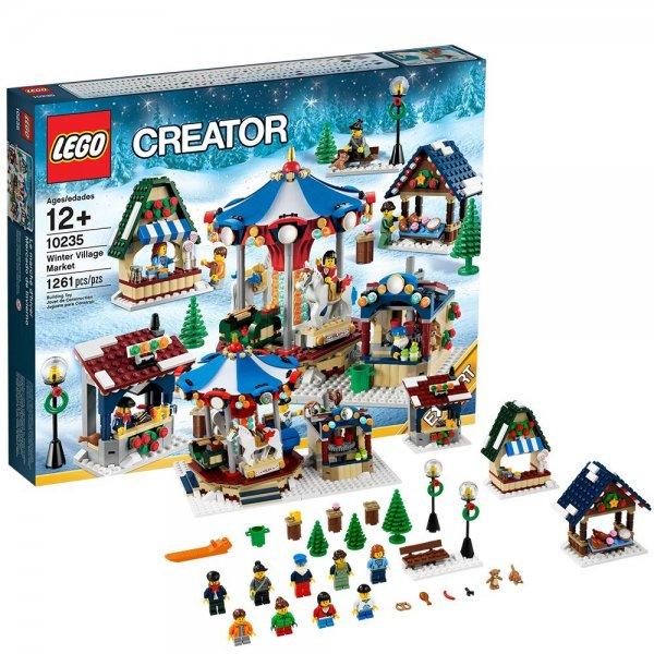 [Lokal WEKA Schleiz] LEGO 10235 Winterlicher Markt / LEGO Star Wars, Castle und Chima