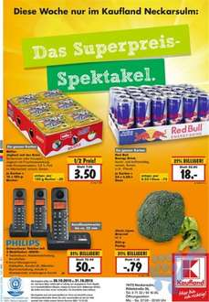 Redbull 24 Dosen - 18€ (0,75€ pro Dose] [Lokal Kaufland Neckarsulm]