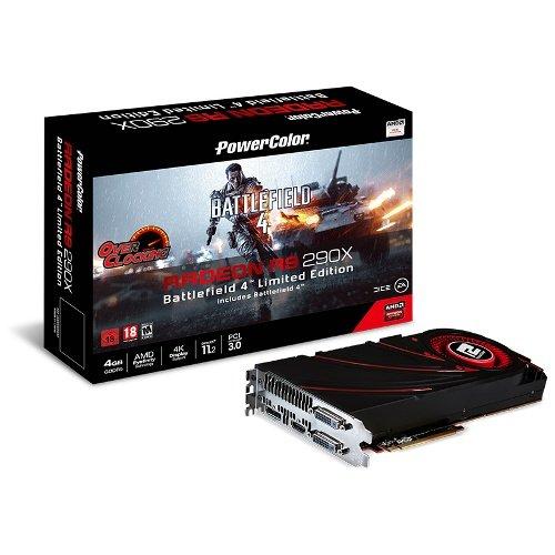 PowerColor RADEON R9 290X OC 4GB für 244,60€ inkl. Versand bei hardwareversand.de