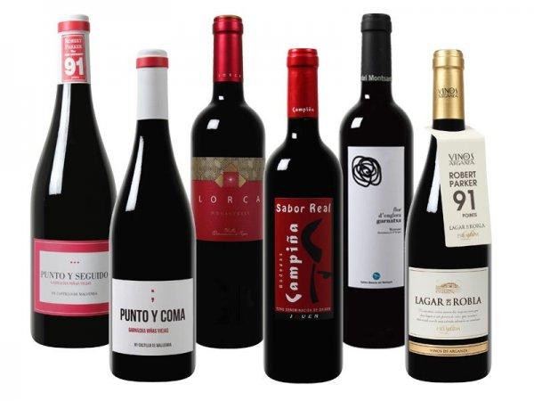 [Weinvorteil.de] Exklusives Robert Parker Wein-Paket (6Weine)