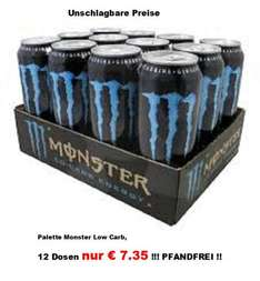 [LOKAL] Denekamp/NL 12 Dosen Monster Energy Low Carb Pfandfrei