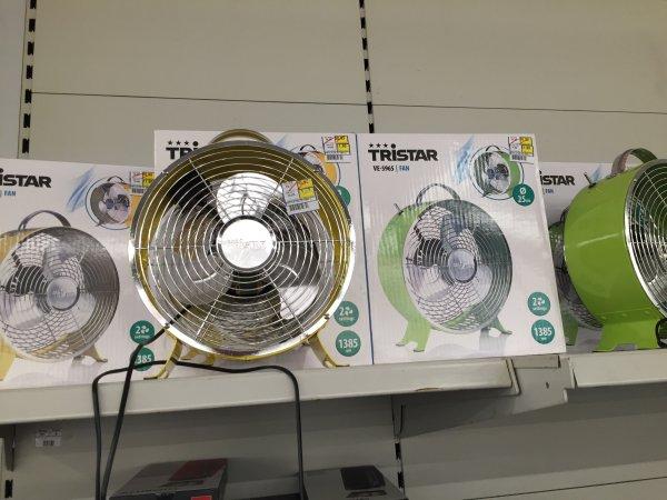 [Lokal Metro HH Rahlstedt] Tristar VE 5965 und 5964 Ventilator für 11,90 Euro