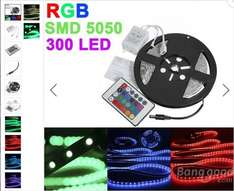 [BANGGOOD] 5 Meter LED Leiste RGB LED Chip: SMD 5050 7,99 €