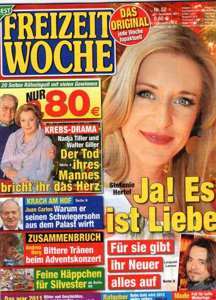 6x Ausgaben Freizeitwoche und Einkaufskorb für zusammen 3,60 Euro