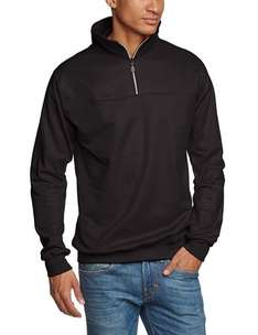 Trigema Herren Sweatshirt (Made in Germany) Größe M in Schwarz 39,21€ statt 55€ @ Amazon.de