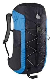 Vaude Rucksack Ultra Hiker, 30 Liter Black/Blue für 37,99 € @Amazon.de