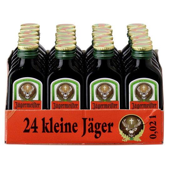[REAL] Jägermeister 35% 24x0,02l bei Filialabholung