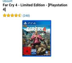 [29,99€]PS4 Far Cry 4 Limited Edition