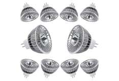 [DealClub] 10er Pack Neolumic Leds MR16 GU 5,3 6W Warmweiss 3000K
