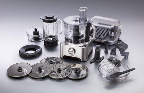 Kenwood FPM810 Multipro Sense Kompakt-Küchenmaschine, 1000W, Metall, umfangreiches Zubehör für 221,12 € @Amazon.co.uk