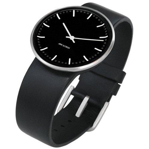 [Amazon.de-Prime] Rosendahl Unisex-Armbanduhr Analog Edelstahl schwarz 43457