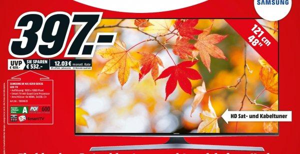 [Lokal Mediamarkt Schwerin] Samsung UE48J6250 121 cm (48 Zoll) Fernseher (Full HD, Triple Tuner, Smart TV)  für 397,-€