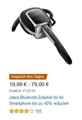 [AMAZON] - Angebot des Tages - Jabra Bluetooth-Zubehör für Ihr Smartphone - 19,99€ - 79€