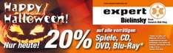 [Lokal Expert Bonn] Nur heute 20% auf Spiele, CD, DVD, Blu-Ray