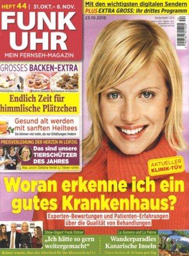 """""""Funk Uhr"""" - 60 Ausgaben der Zeitschrift für effektiv 2,40€ durch 60,00€ Bargeldprämie"""