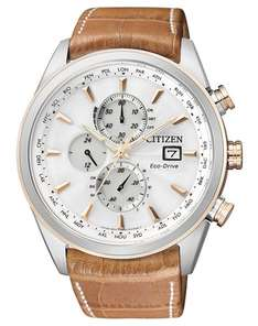 Citizen AT8017-08A ECO Drive - Funk-Solar-Chronograph