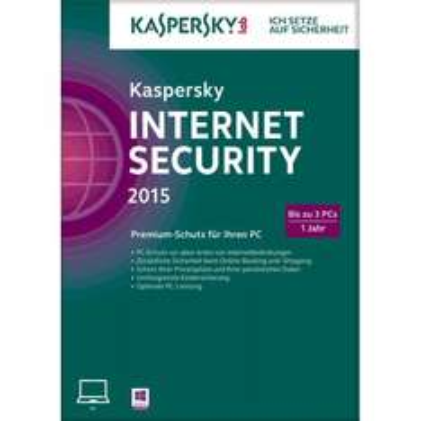 [Ebay (Cyberport)] Kaspersky Internet Security 2015 3 PCs/1 Jahr für 14,90€ ABHOLUNG IN DER FILIALE NOCH MÖGLICH