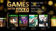 Xbox Games With Gold November 2015
