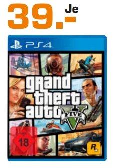 [Lokal Saturn Sankt Augustin] Grand Theft Auto 5 (PS4) für 39,-€ ab 29.10