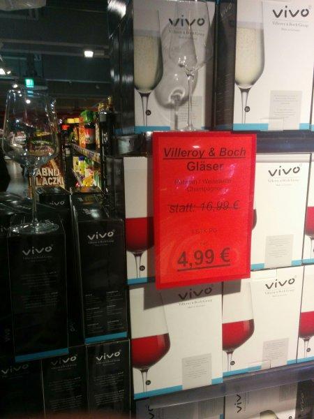 [Offline] REWE Hagen Hohenlimburg Rot-/Weißwein & Champagnergläser der Vivo Serie von Villeroy & Boch