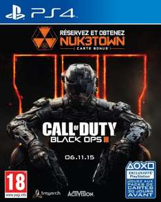 [Amazon.fr] Call of Duty: Black Ops 3 (XboxOne & PS4)