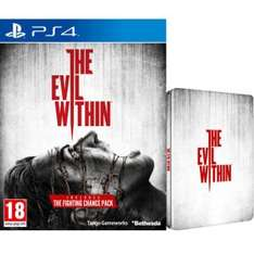 The Evil Within Limited Steelbook Edition (enthält Extra DLC) PS4 @zavvi.de